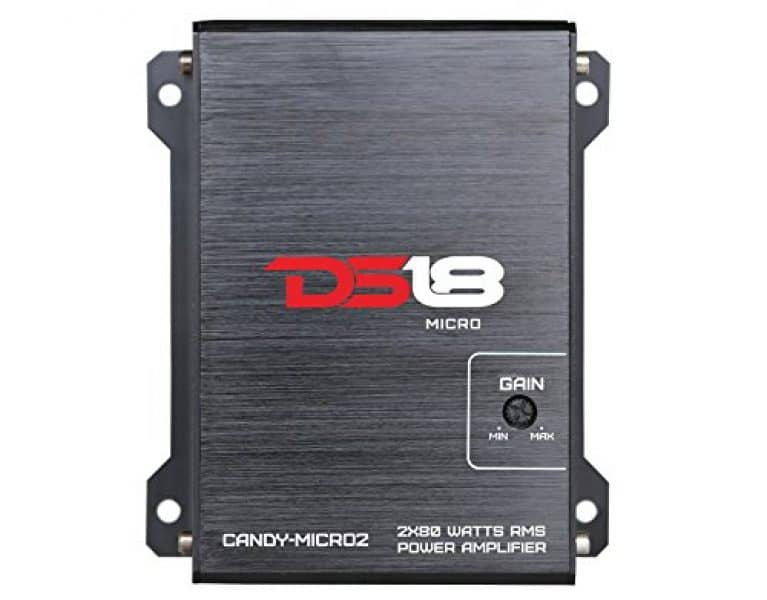 DS18 CANDY-MICRO2 - Amplifier in Black