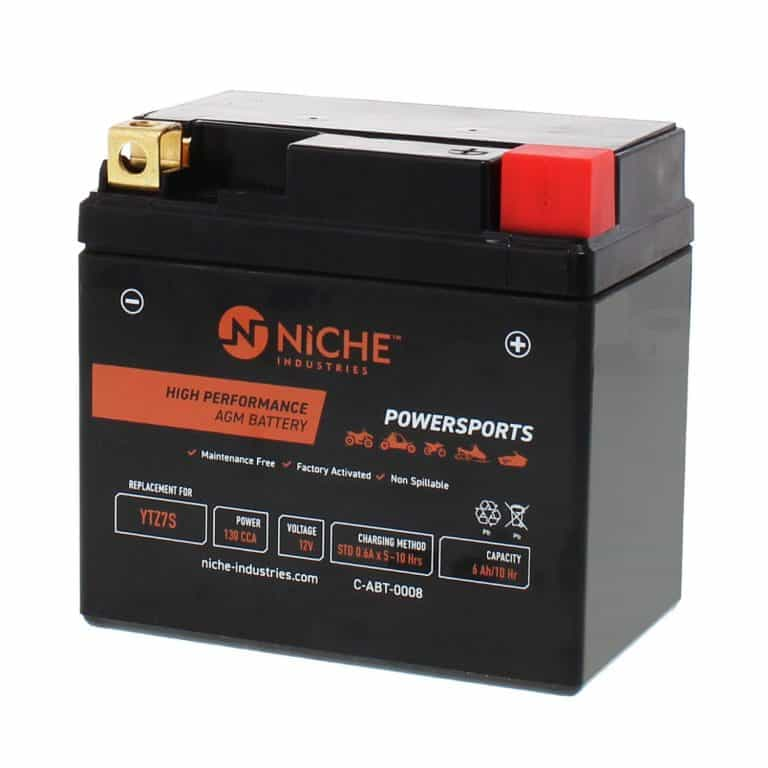 NICHE Replacement AGM Battery for YTZ7S