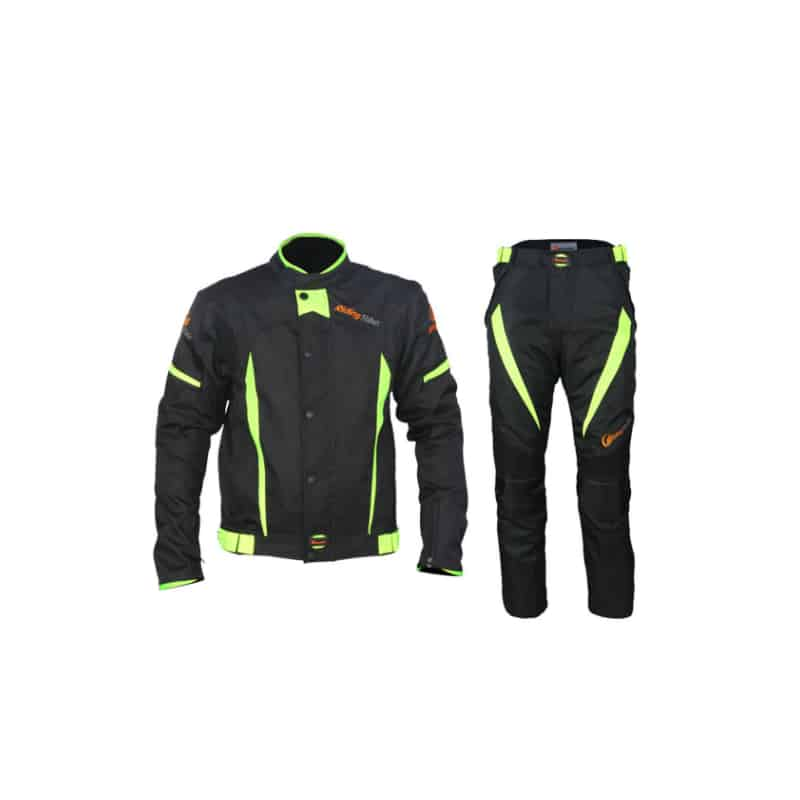 Frogg Toggs Hogg Togg Mens Street Motorcycle Rainsuit Black//Yellow//X-Large