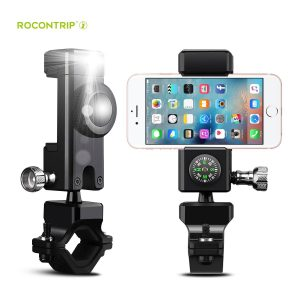 Bike-Phone-Mount-for-Motorcycle-Bike-Handlebars-with-LED-Light -Compass