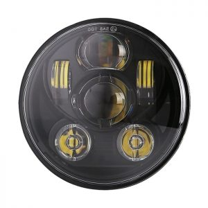 Bicyaco Black LED Headlight