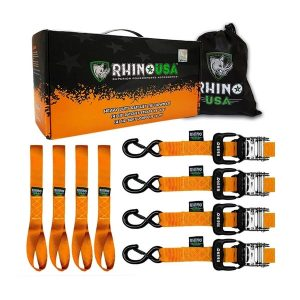 Rhino USA Motorcycle Tie Down Straps
