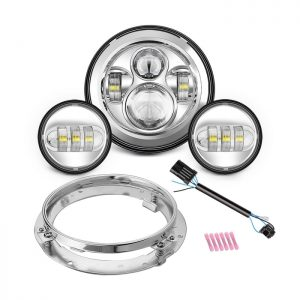 SUNPIE Motorcycle 7 LED Headlight