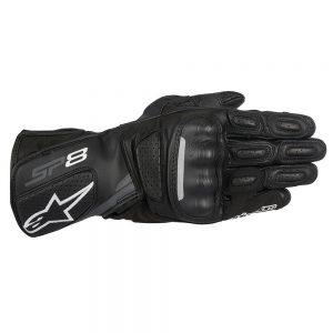 Alpinestars SP-8 V2 Men's Street Motorcycle Gloves - Black