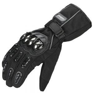 ILM Alloy Steel Motorcycle Riding Gloves Warm Waterproof
