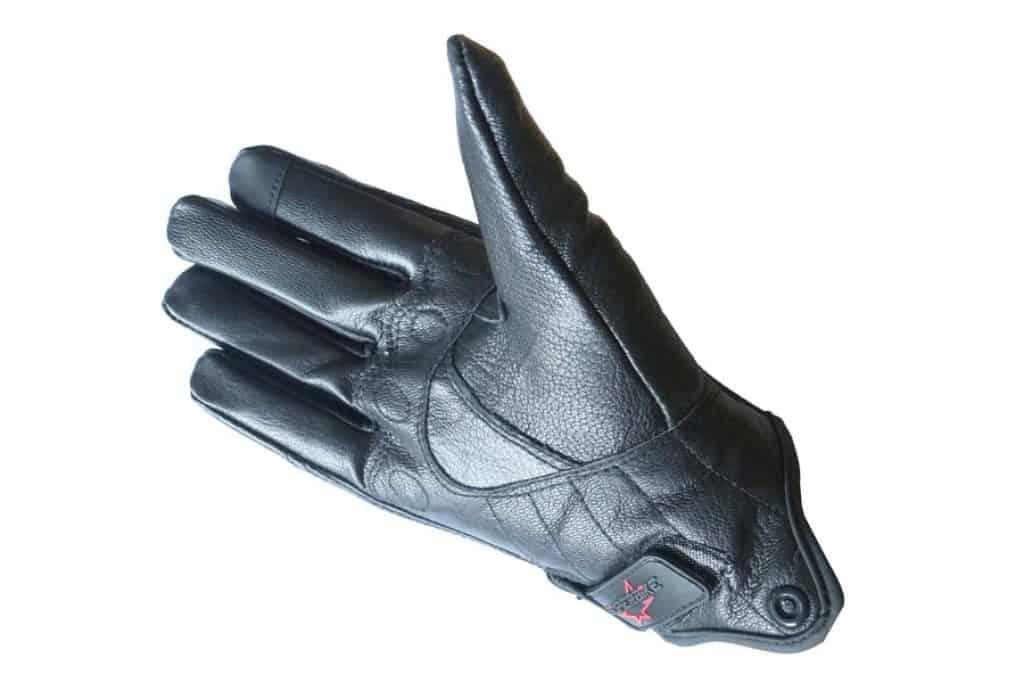 Full finger Goat Skin Motorcycle Gloves