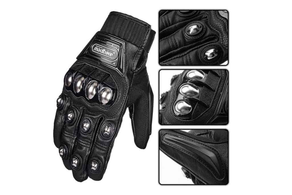 ILM Alloy Steel Motorcycle Gloves