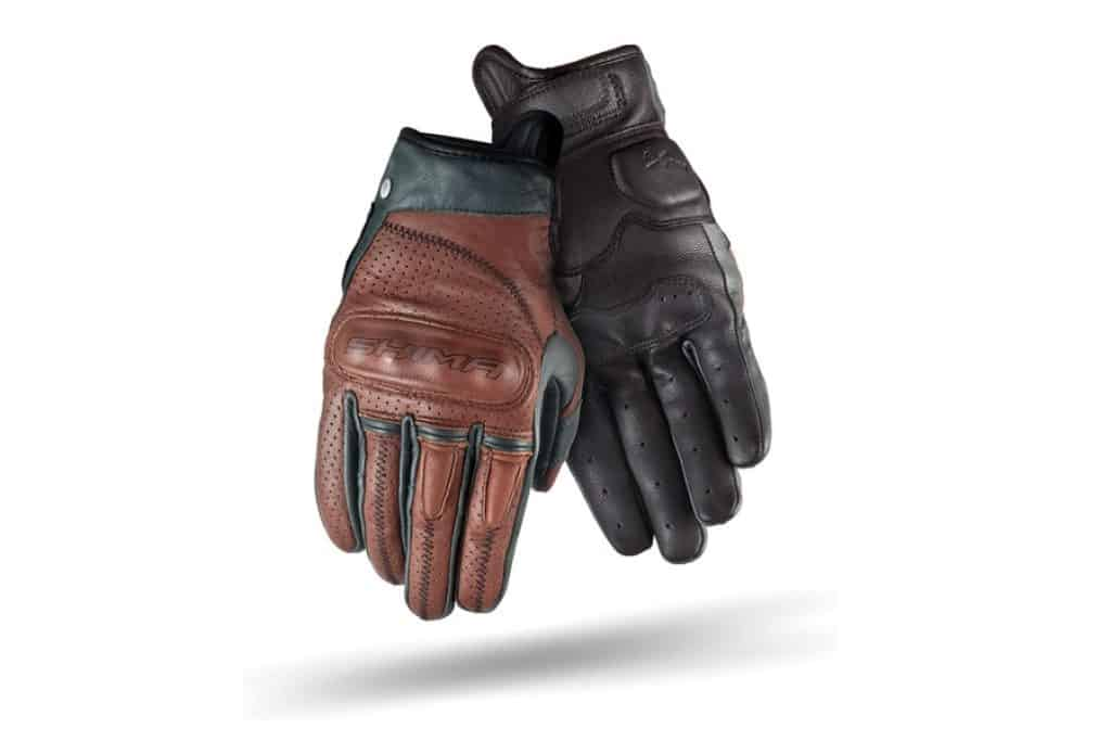 SHIMA Caliber Vintage Leather Motorcycle Gloves