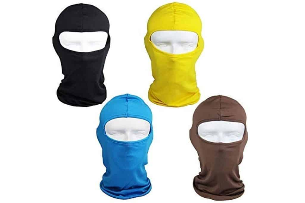 Yellow Ski Shields Motorcycle Mask for Kids