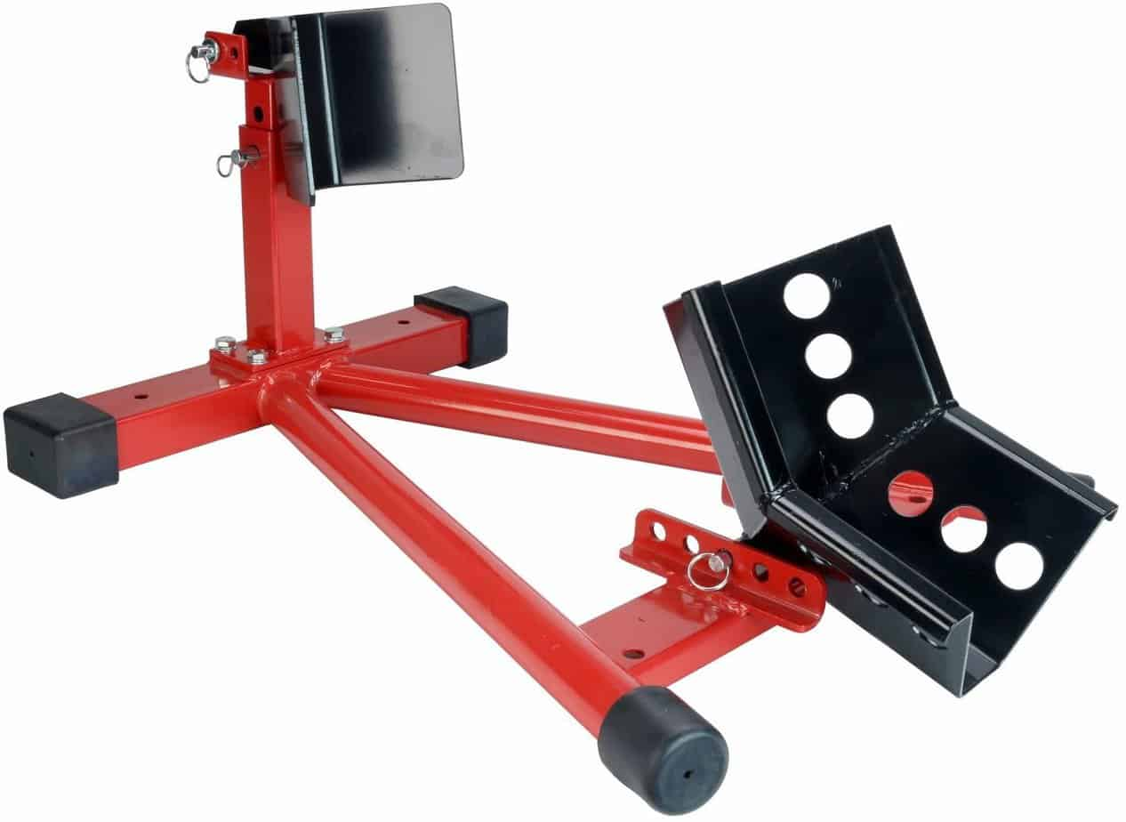 Dragway-Tools-1500-lb-Fully-Adjustable-Motorcycle-Wheel-Chock-Stand