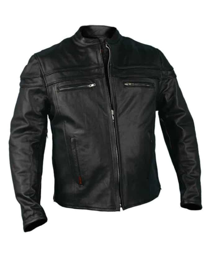 Hot-Leathers-JKM1011MenHeavyweight-Black-Leather
