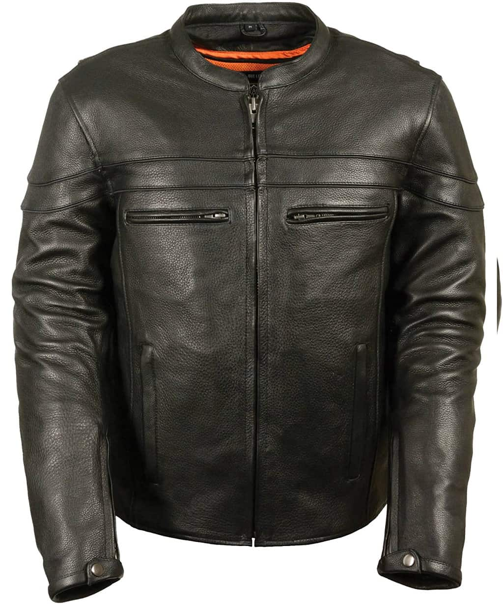 Milwaukee-Leather-Mens-Sporty-Scooter-Crossover-Leather-Jacket