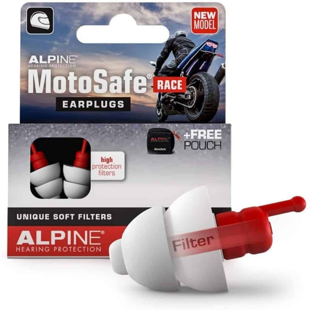 Alpine MotoSafe Race Reusable Ear Plugs