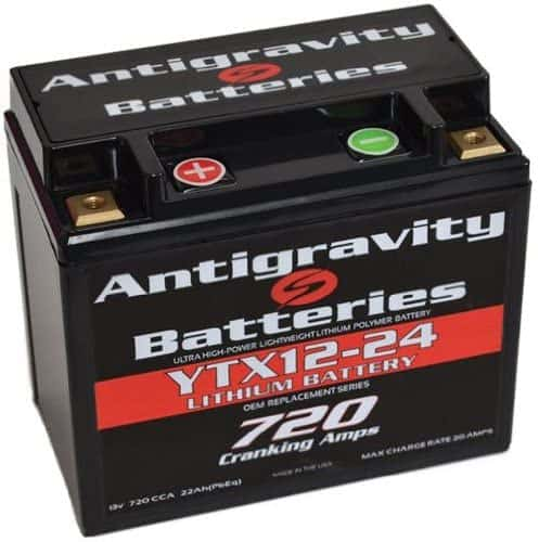 Antigravity Batteries YTX12-24 OEM Case Lithium Motorcycle Battery