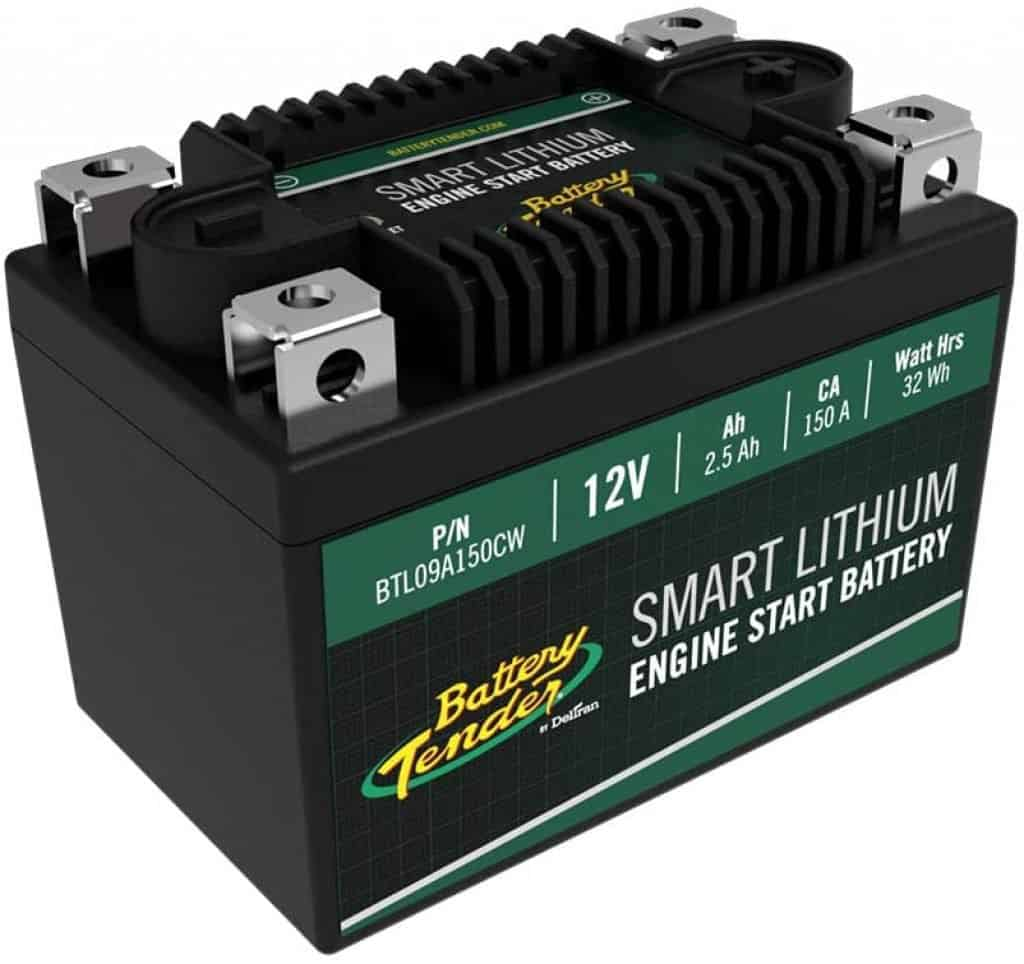 Battery Tender Engine Start Battery: Lithium Motorcycle Battery