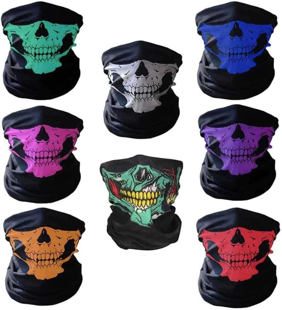 CIKIShield Skull Seamless scarf Bandanas