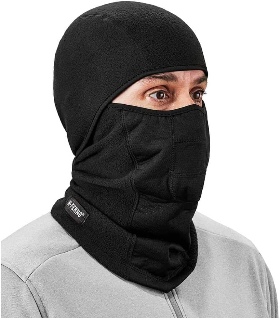 Man with Ergodyne Balaclava Ski Mask photo 1