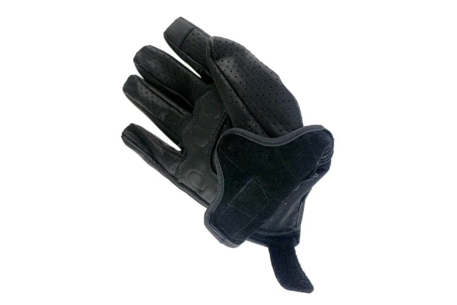 Full Finger Goat Skin Leather Motorcycle Gloves