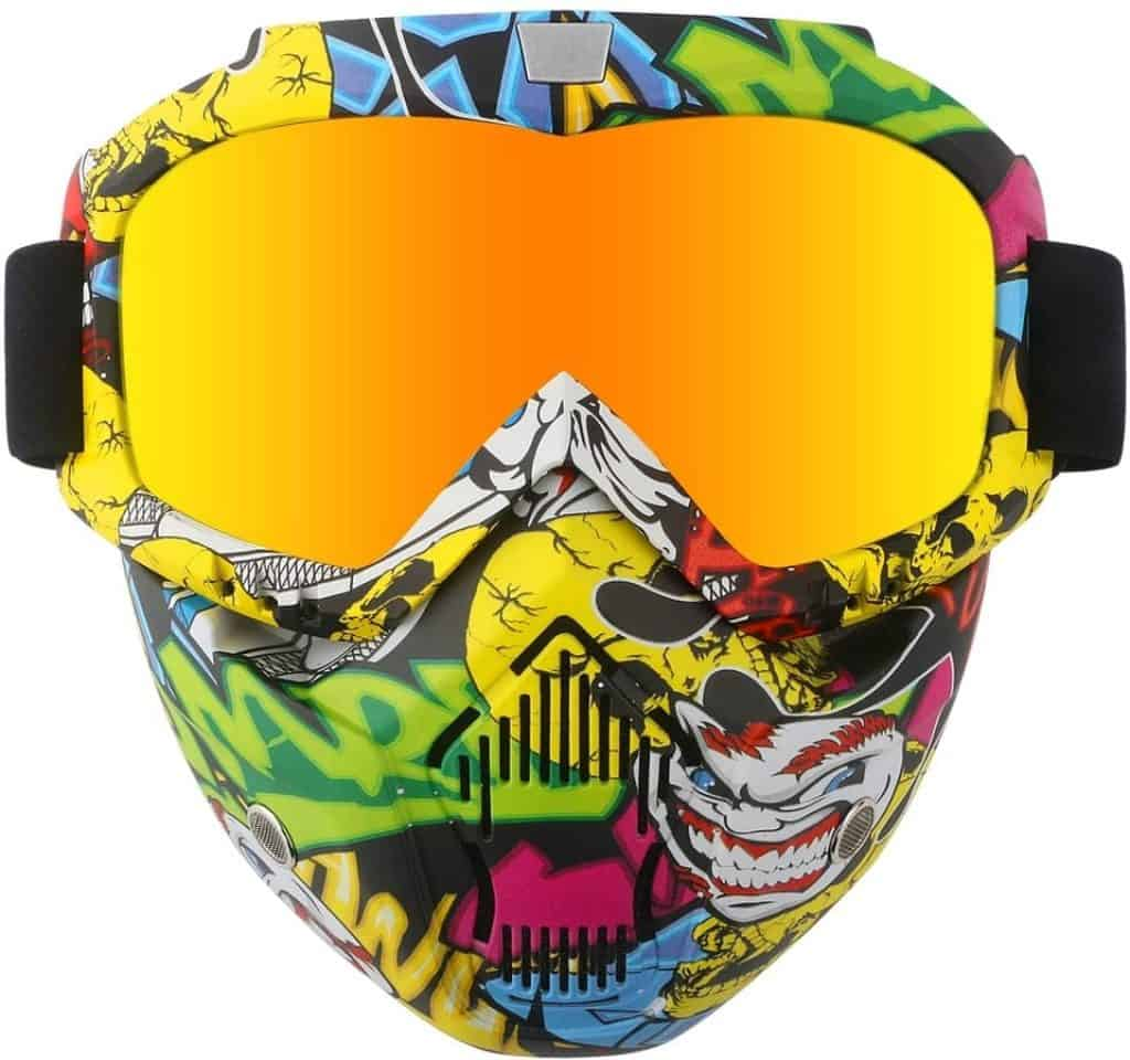 GGBuy Motorcycle Face Mask for Women