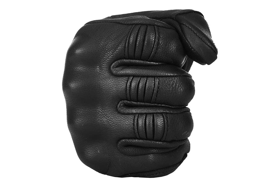 ILM Goatskin Leather Winter Motorcycle Gloves