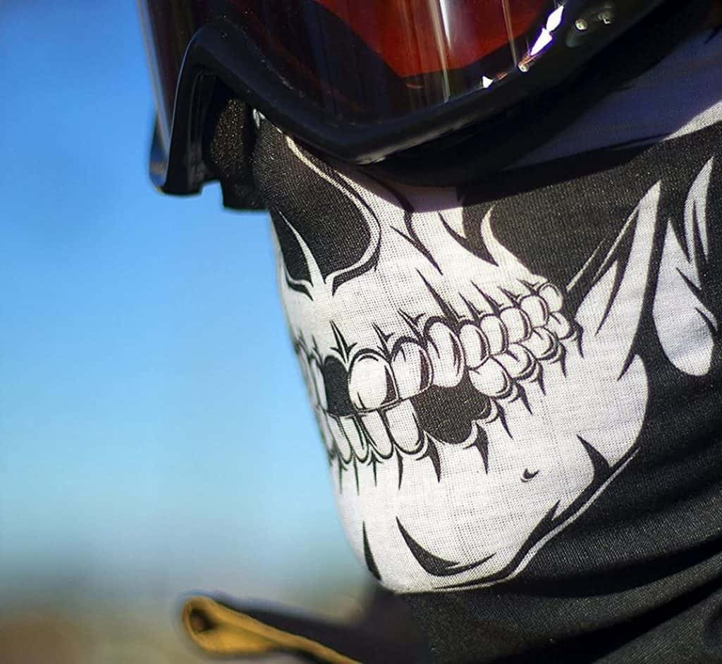 Skull Outdoor Motorcycle Face Mask
