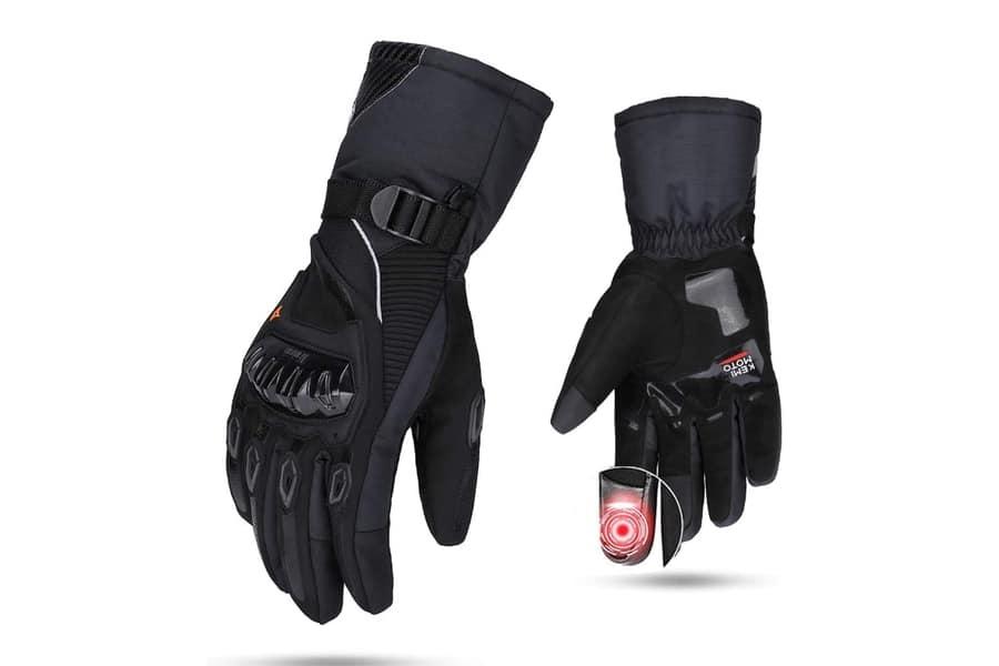 Kemimoto Waterproof Motorcycle Riding Gloves