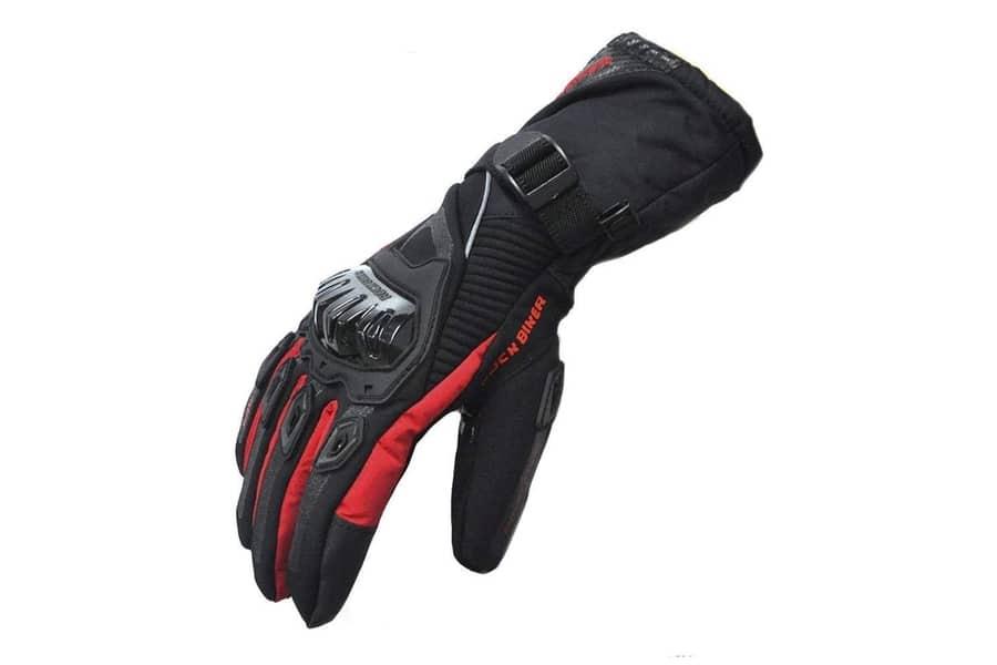 Kemimoto Winter Waterproof Motorcycle Gloves
