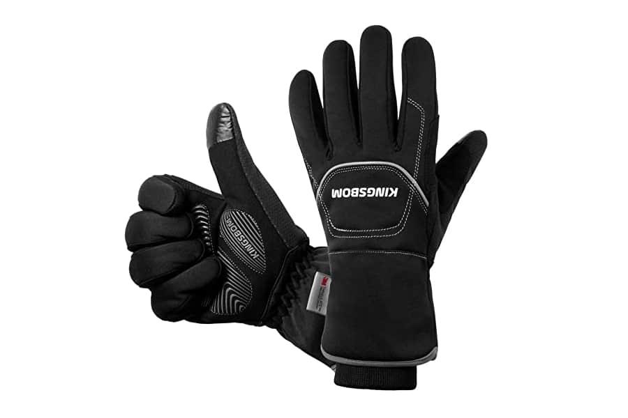 KINGSBOM Waterproof & Windproof Thermal Gloves