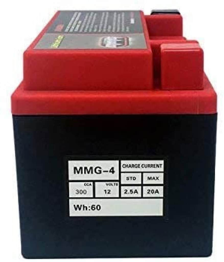 MMG YTZ10S Z10S Lithium Ion Sealed High Performance Powersports Battery