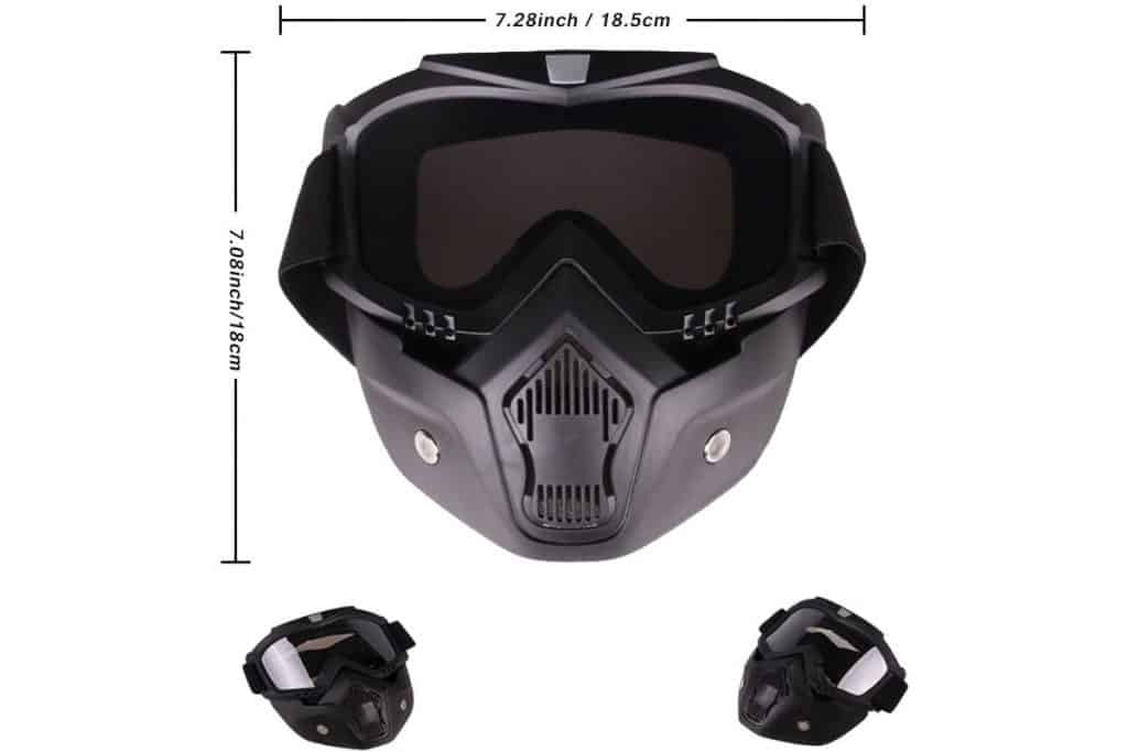 PiscatorZone Kids Goggles Mask