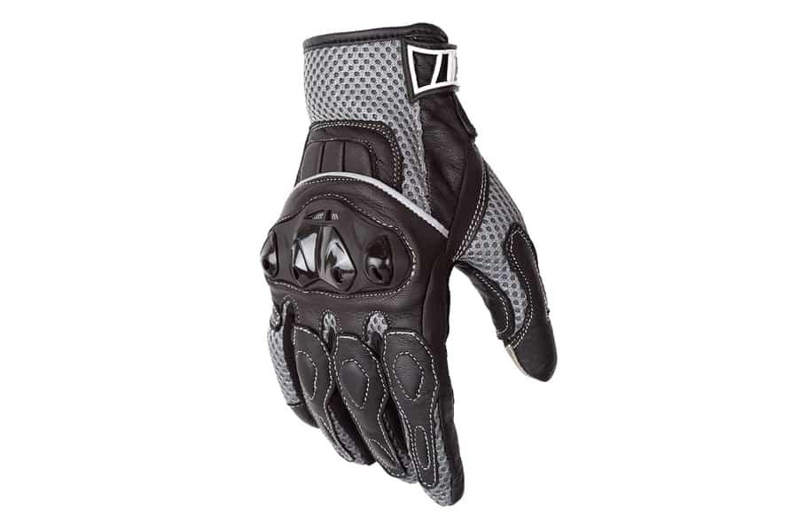 Motorcycle Biker Black Premium Summer Gloves