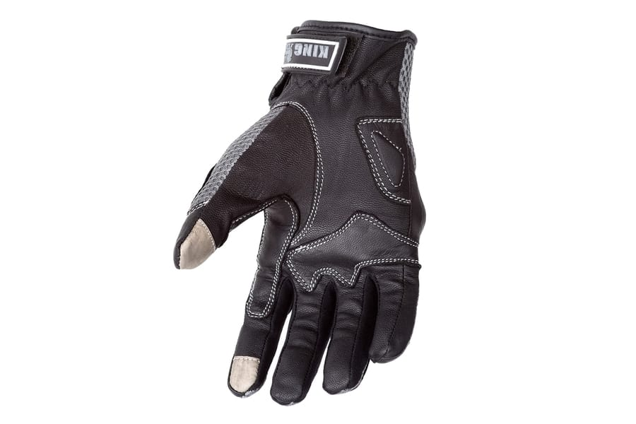 Motorcycle Biker Black Premium Summer Gloves