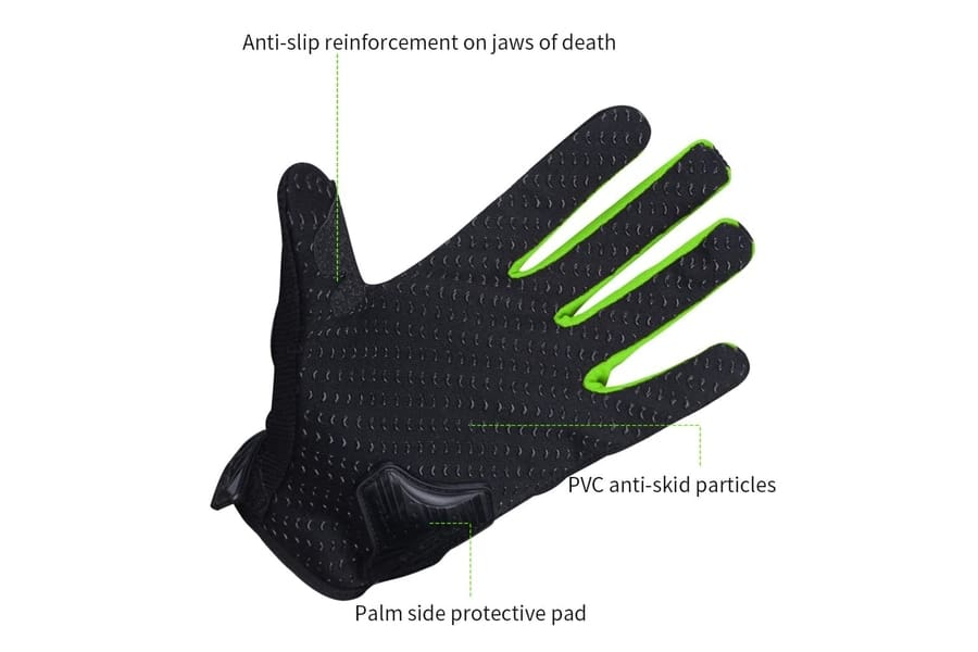 Scoyco Breathable Gloves with Hard Knuckles