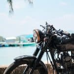 shallow-focus-photography-of-black-motorcycle.