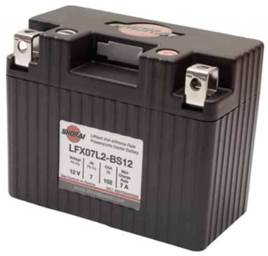 Shorai LFX Lithium Battery