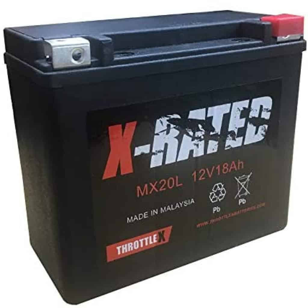 ThrottleX MX20L Lithium Motorcycle Battery
