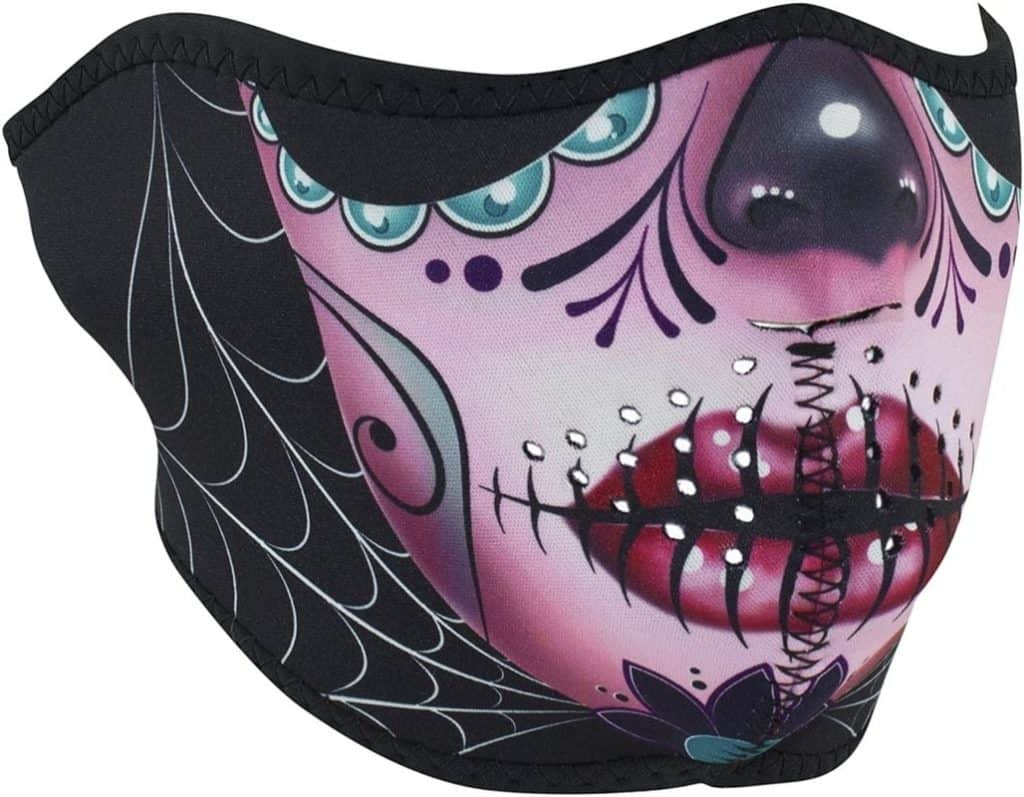 Zanheadgear WNFM082H Motorcycle Face Mask for Women