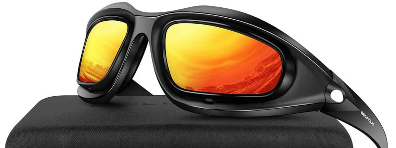BELINOUS Polarized Motorcycle Riding Glasses