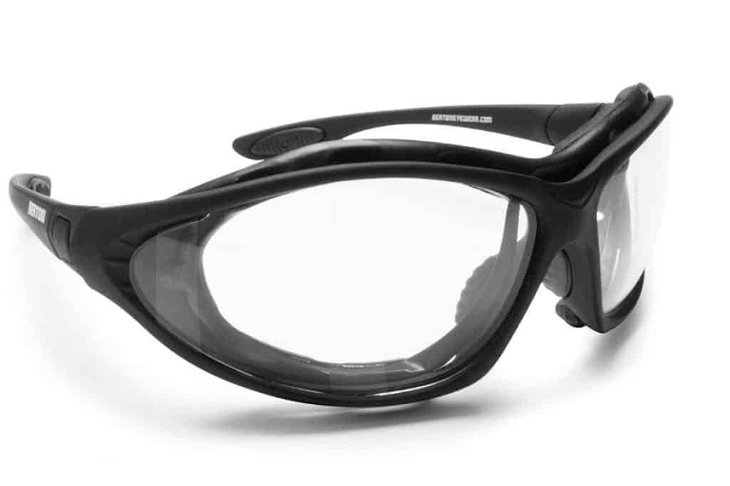 Bertoni Motorcycle Goggles front
