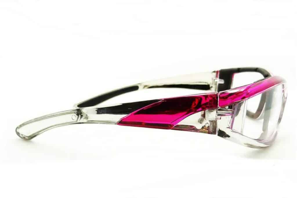 Chrome and Pink Motorcycle