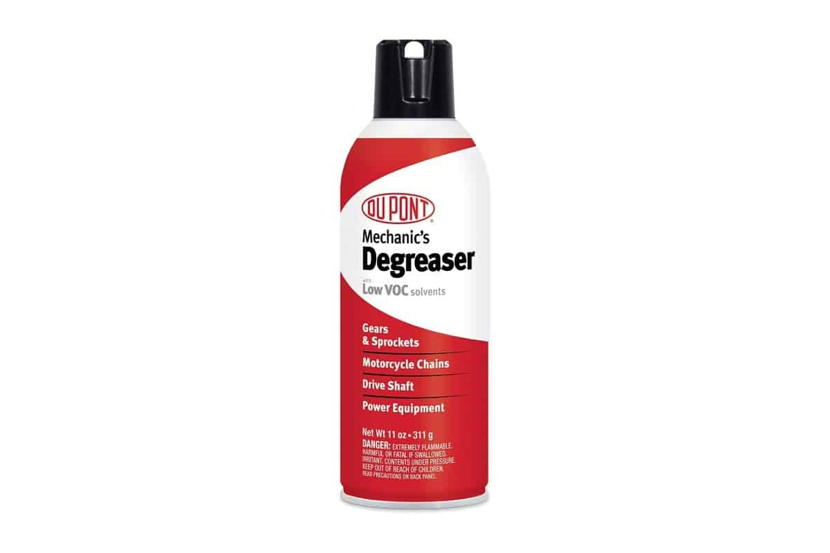 DuPont Motorcycle Degreaser container white background