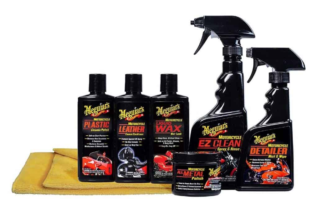 Meguiar's Motorcycle Care Kit with towel