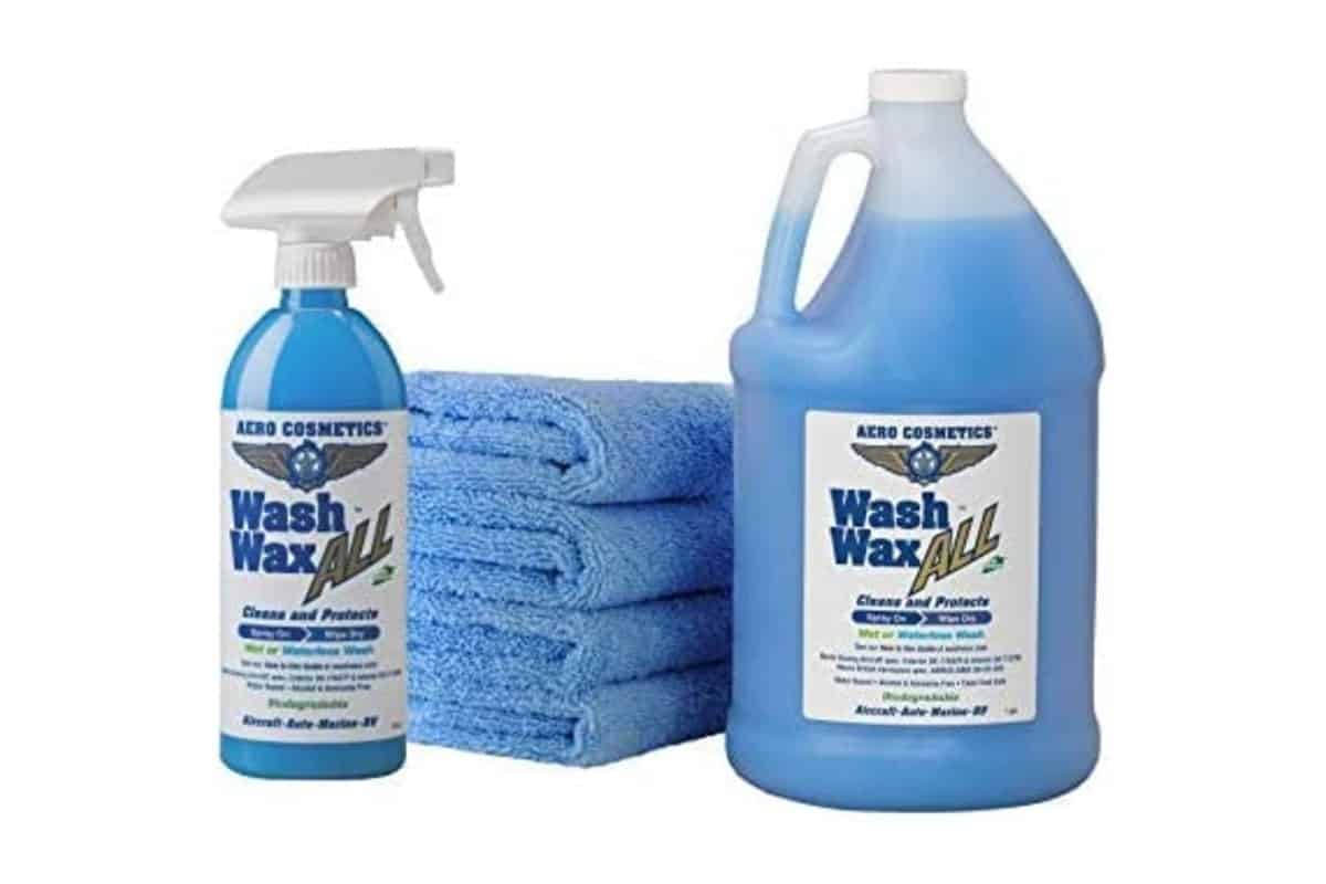 Wet or Waterless Wash Wax Kit by Aero Cosmetics