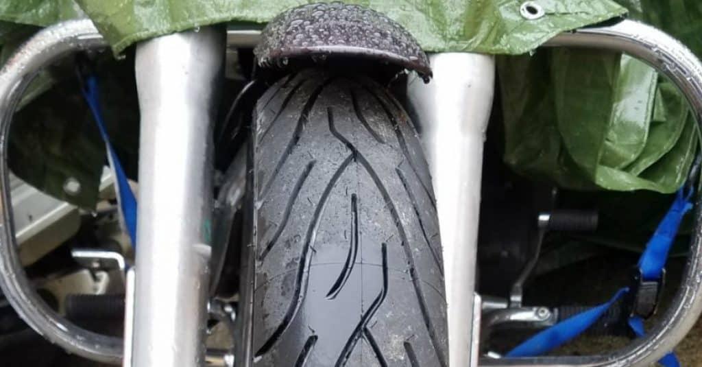 Michelin Commander II Motorcycle Tire Cruiser Front - 10090