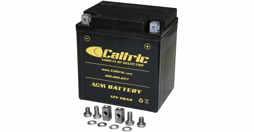 Caltric Agm Battery Compatible