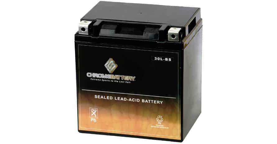 Chrome Battery YTX30L-BS High