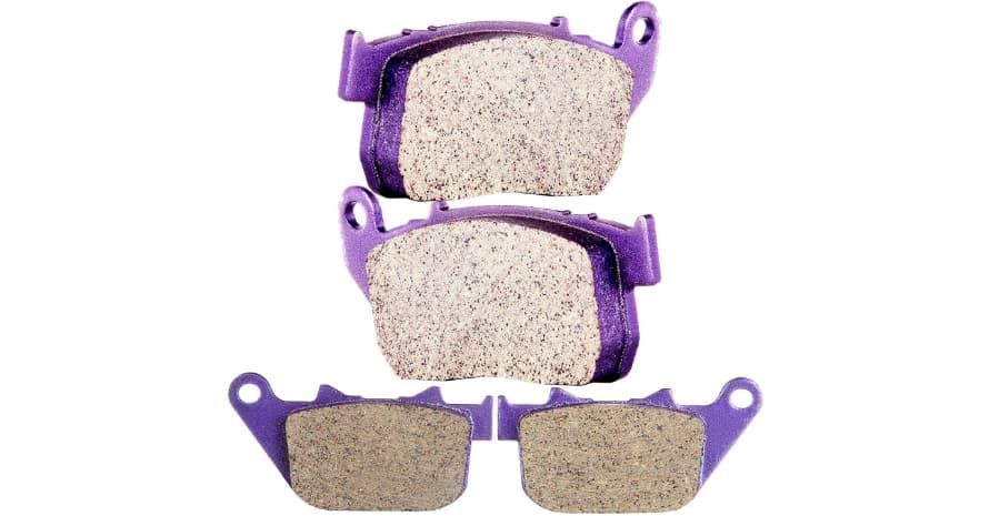 Front and Rear Carbon Brake Pads