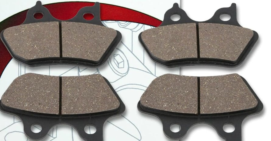 Sixity Front Rear Ceramic Brake