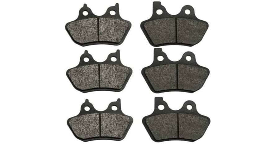 Volar Front Rear Brake Pads