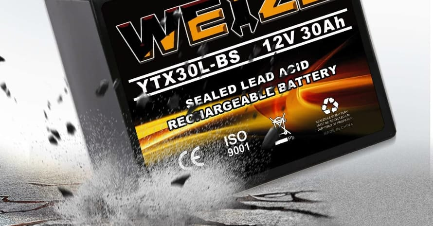 Weize YTX30L-BS Battery Replacement